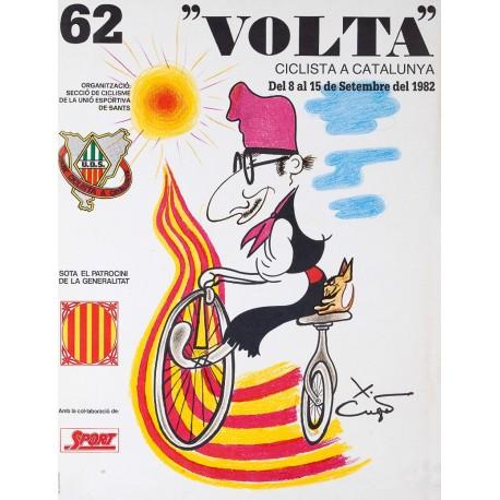 """62 """"VOLTA"""" CICLISTA A CATALUNYA"""