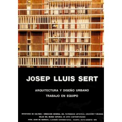 JOSEP LLUIS SERT. ARQUITECTURA Y DISEÑO URBANO. 1978
