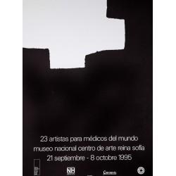 23 ARTISTAS PARA MEDICOS DEL MUNDO. 1995. CHILLIDA
