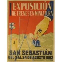 I EXPOSICIÓN TRENES MINIATURA SAN SEBASTIÁN