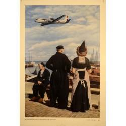 KLM COMPAÑIA REAL HOLANDESA DE AVIACION. NUEVO VISCOUNT.
