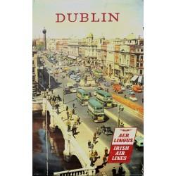 DUBLIN. AER LINGUS. IRISH AIR LINES