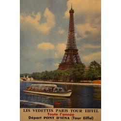 LES VEDETTES - PARIS - TOUR EIFFEL
