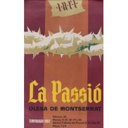 LA PASSIO. OLESA DE MONTSERRAT. 1963