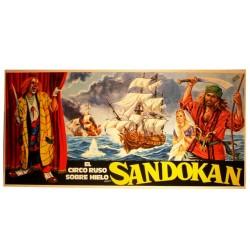 SANDOKAN. CIRCO RUSO SOBRE HIELO. 1977