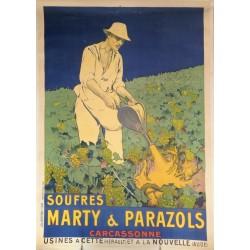 SOUFRES MARTY & PARAZOLS. CARCASSONNE