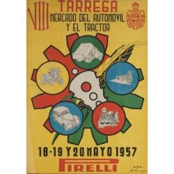 TARREGA VIII MERCADO DEL AUTOMOVIL Y EL TRACTOR 1957