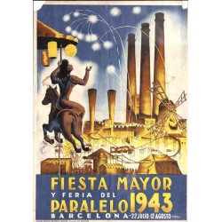 FIESTA MAYOR PARALELO 1943