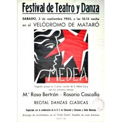 MEDEA RECITAL DE TEATRO Y DANZA