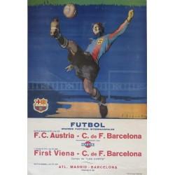 F.C. AUSTRIA. - BARCELONA. FIRST VIENA. - BARCELONA. 1953
