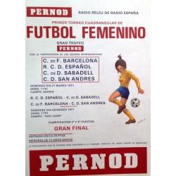 PRIMER TORNEO DE FUTBOL FEMENINO