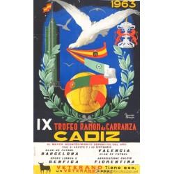 IX TROFEO RAMON DE CARRANZA CADIZ 1963