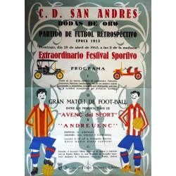 C.D. SAN ANDRES BODAS DE ORO. 1963