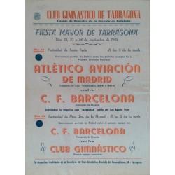 CLUB GIMNASTICO DE TARRAGONA - C. F. BARCELONA 1942