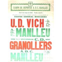 CAMPO DEPORTES A.D.C. MANLLEU. VIC-MANLLEU 1960