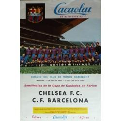 CHELSEA C.F. - C-F. BARCELONA 1966