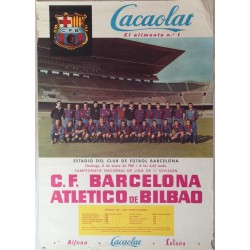 F.C. BARCELONA - ATLETICO DE BILBAO 1961