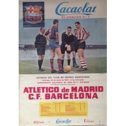 A.C. MILAN - F. C. BARCELONA 1959