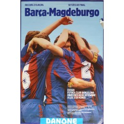 RECOPA D'EUROPA BARÇA - MAGDEBURGO