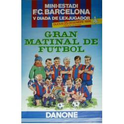 GRAN MATINAL DE FUTBOL V DIADA DE L'EXJUGADOR. 1986
