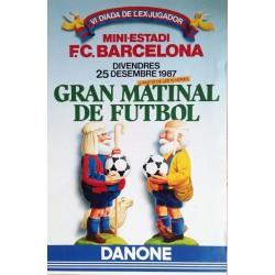GRAN MATINAL DE FUTBOL VI DIADA DE L'EXJUGADOR. 1987