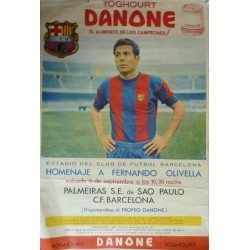 HOMENAJE A FERNANDO OLIVELLA PALMEIRAS S.E. DE SAO PAULO - C. F. BARCELONA