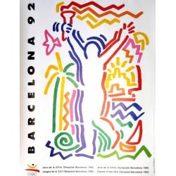 JUEGOS DE LA XXV OLIMPIADA BARCELONA 1992 -GAMES OF THE XXV OLYMPIAD. PILAR VILLUENDAS / JOSEP RAMON GOMEZ