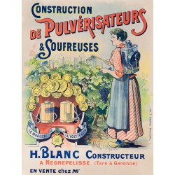 CONSTRUCTION DE PULVERISATEURS & SOUFREUSES