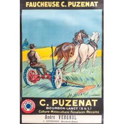 FAUCHEUSE C. PUZENAT. BOURBON-LANCY (S. & L,)