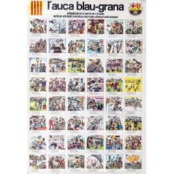 L'AUCA BLAU-GRANA. F.C.B. (FUTBOL CLUB BARCELONA)