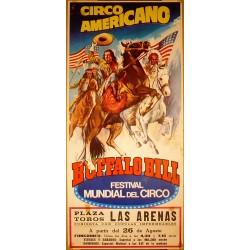 CIRCO AMERICANO. BUFFALO BILL.