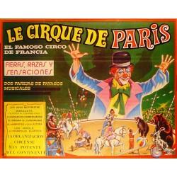 LE CIRQUE DE PARIS. EL FAMOSO CIRCO DE FRANCIA
