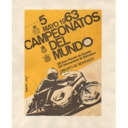 CAMPEONATOS DEL MUNDO 1963. XIII GRAN PREMIO DE ESPAÑA y XIX INTERNACIONAL DE BARCELONA