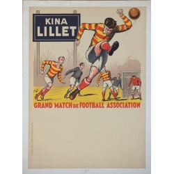 C-12896KINA LILLET. GRAND MATCH DE FOOTBALL ASSOCIATION