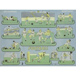 FOOTBALL. DECOUPAGE - MONTAGE