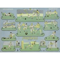 FOOTBALL. DECOUPAGE - MONTAGE