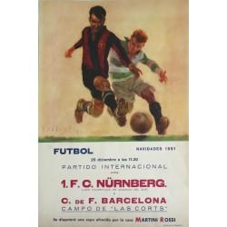 1 F. C. NÜRNBERG. - BARCELONA.. 1951