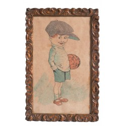 M. PLANAS 1927. Futbolista infantil