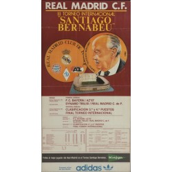 REAL MADRID III TORNEO SANTIAGO BERNABEU. 1981