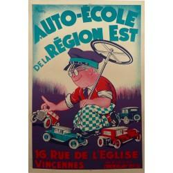 AUTO-ECOLE DE LA REGION EST...