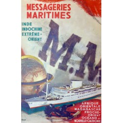 MESSAGERIES MARITIMES INDE, INDOCHINE...