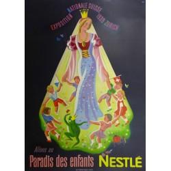 NESTLE PARADIS DES ENFANTS. 1939 ZURICH...