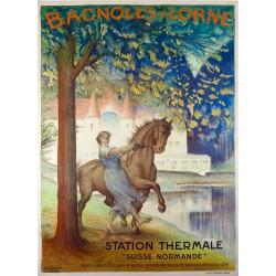 BAGNOLES DE L'ORNE STATION THERMALE...