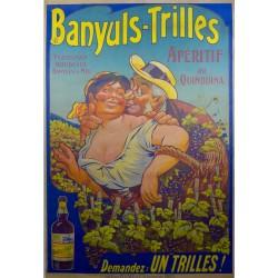BANYULS-TRILLES. APERITIF AU QUINQUINA...