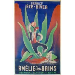 AMELIE les BAINS. FRANCE ETE - HIVER....