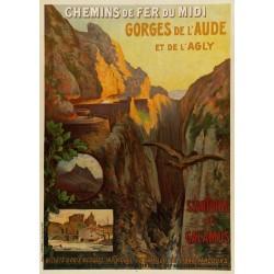 GORGES DE L'AUDE ET DE L'AGLY. GALAMUS (P0)...