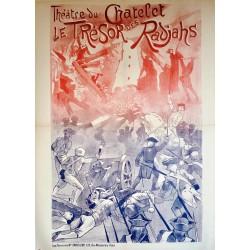 THEATRE DE CHATELET LE TRESOR DES RADJAHS...