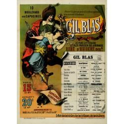 GIL BLAS LE PLUS LITTERAIRE...DES JOURNEAUX...