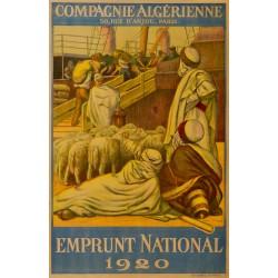 POUR LE RETOUR EMPRUNT NATIONAL (BAIE d'ALGER)...