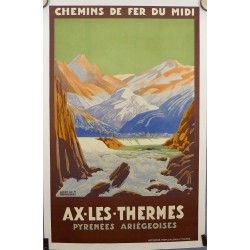 AX LES THERMES PYRENEES ARIEGEOISES...
